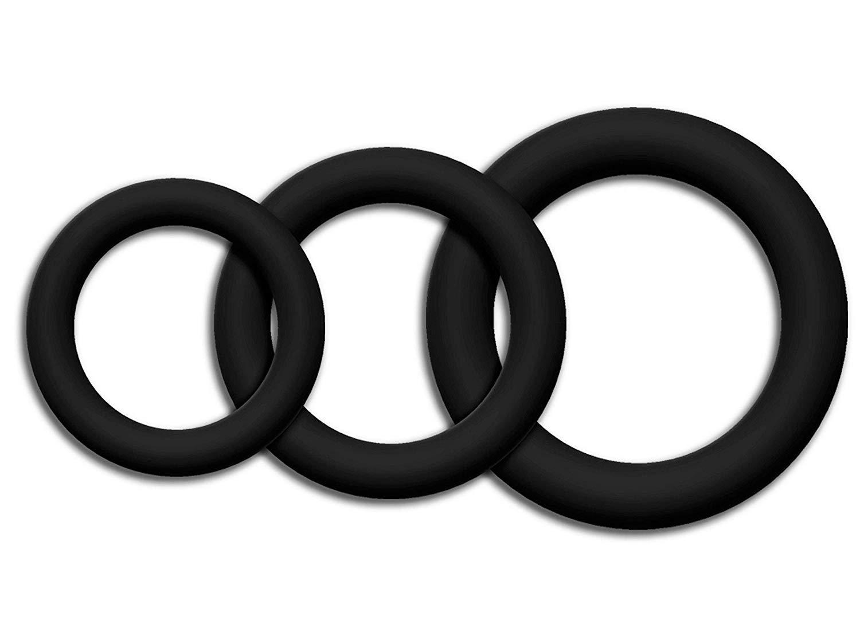 JuCai8 4 Pcs Constriction Rings P-/ên/ís Rings Delay E-j/áculation Sleeve