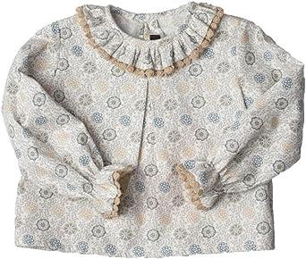 CAROLO BABY Camisa Bebé CaroloBaby de Cuello Rizado: Amazon ...