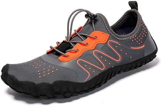 SHYSBV Zapatos De Cinco Dedos Descalzos para Hombres Zapatos De Agua De Verano para Hombres Zapatos Ligeros De Agua para Exteriores Zapatillas Deportivas De Fitness-17_7.5: Amazon.es: Hogar