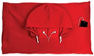 HoodiePillow Brands Pillowcase - Fire Red