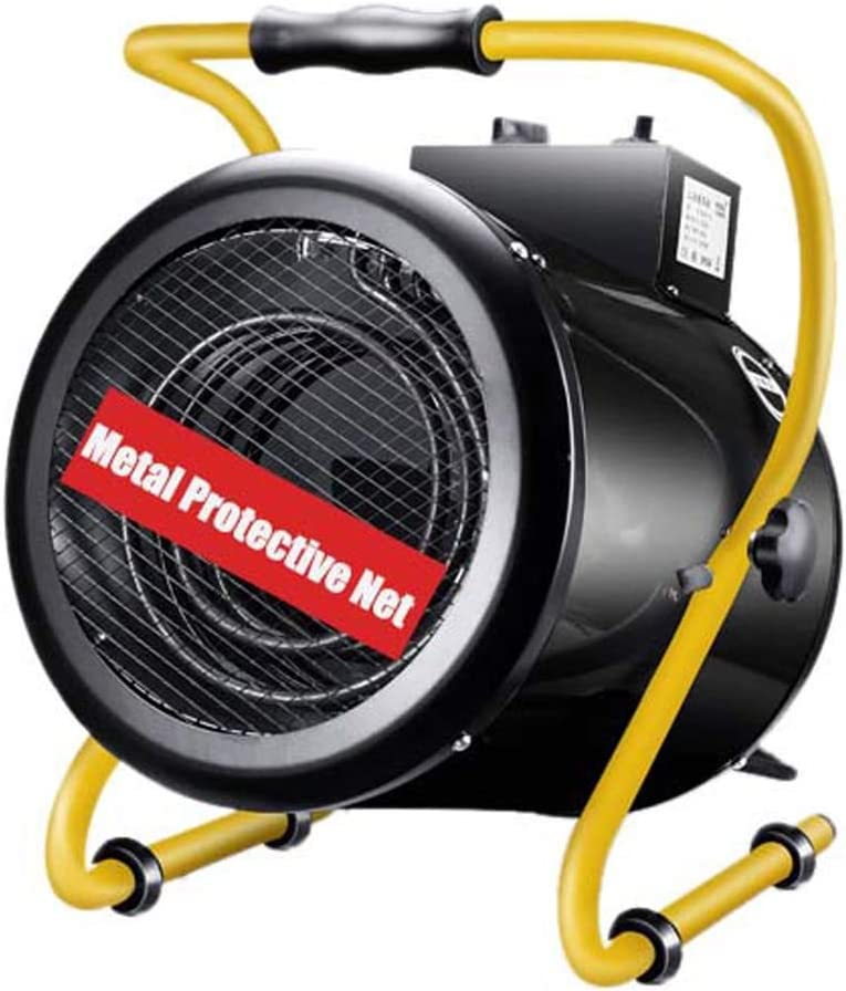 DFGH Soplador de Aire Caliente, Calentador Industrial 380V 9KW, | Tubo Calefactor de Acero Inoxidable - Calentador de Alta Potencia Ahorro de energía - Adecuado para Tiendas de cría de 50-90㎡