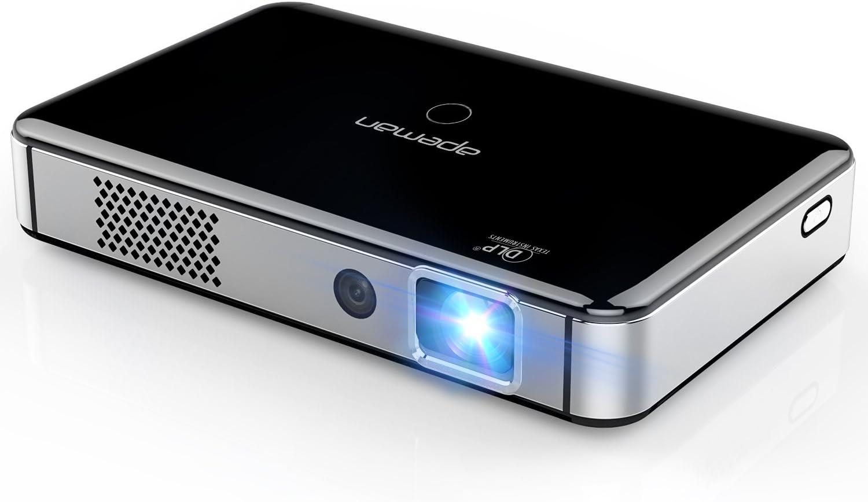 APEMAN Mini Proyector HD Portátil DLP Proyector de Bolsillo WiFi y ...