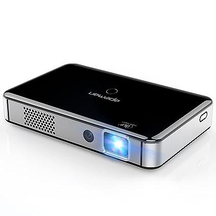 Amazon.com: Apeman Mini DLP Proyector de vídeo, Negro ...