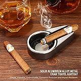 CiTree Cigar Ashtray, Cigar Travel Ashtray, Metal