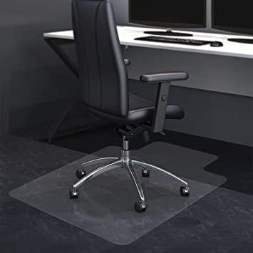 amazon com office chair mat for hardwood floor vogek clear
