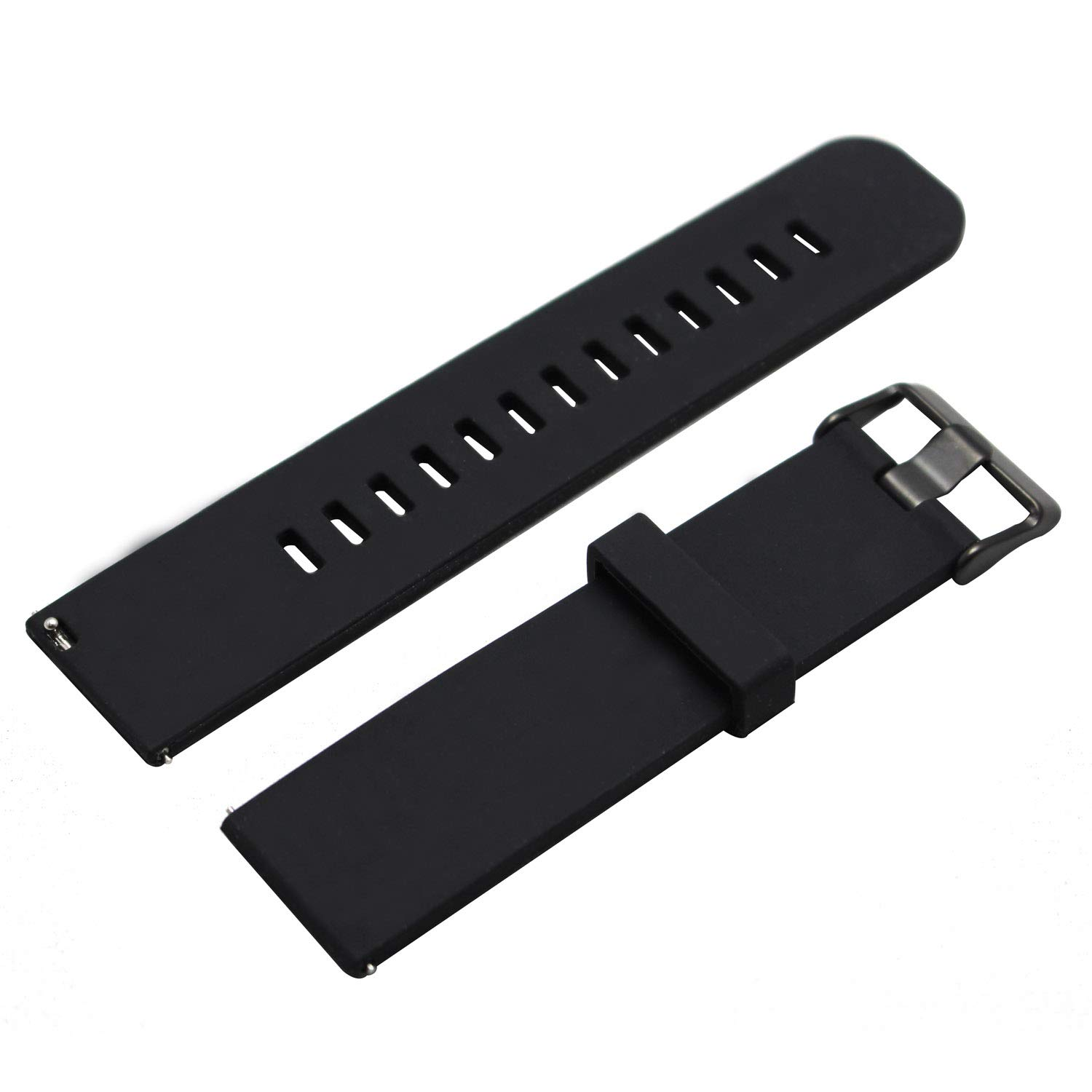 official photos 10fb8 fe81e RAYSUN Replacement Anti-slip Waterproof Silicone Watch Band Strap for LG G  Watch W100 W110 Urbane W150 Samsung Gear 2 R380 Gear 2 Neo R381 Gear 2 Live  ...