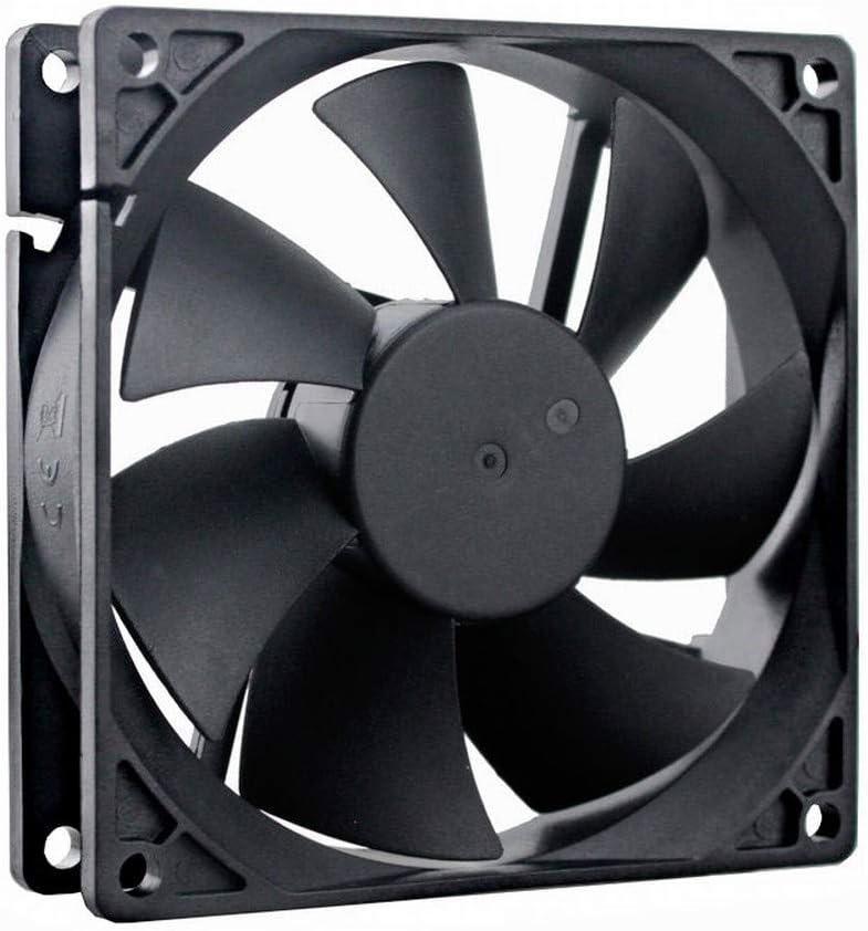 GDSTIME 92mm x 92mm x 25mm 12V Dual Ball Bearings Brushless Cooling Fan