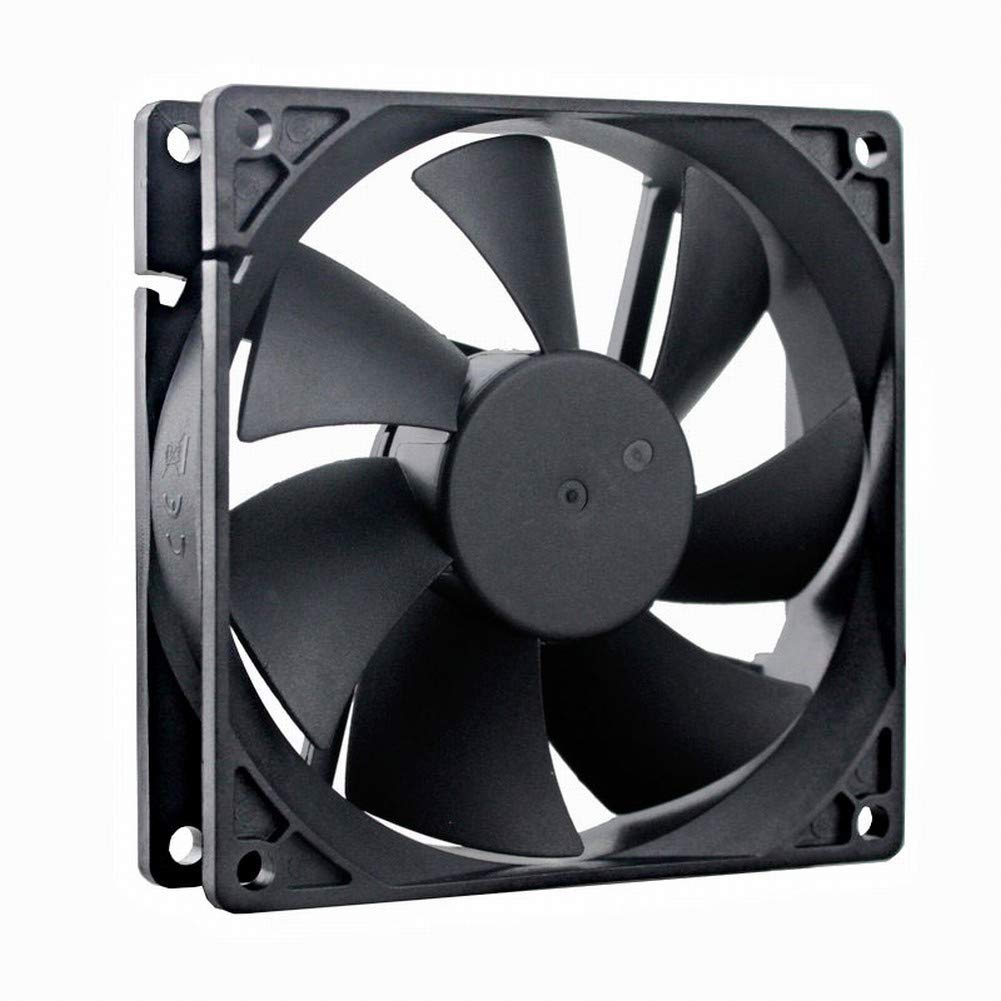 GDSTIME 92mm x 92mm x 25mm 12V Dual Ball Bearings Brushless Cooling Fan