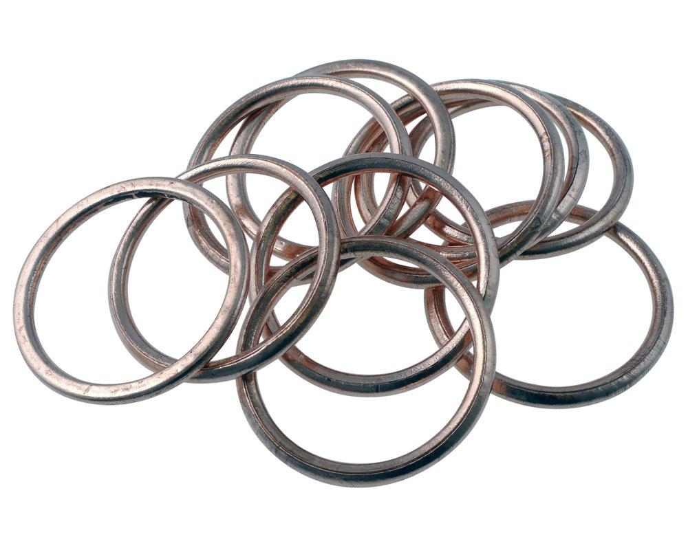 Kupfer-Hohlring Kr/ümmerdichtungen f/ür CX 500 46,5x38,8x4,0 10 Stk.
