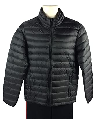 Nordic Track Mens Packable Down Jacket Lightweight Coat With Carry ...