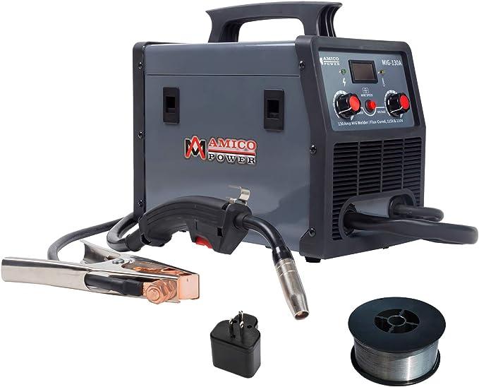 MIG 130F transformer welder AC 230 50Hz semi-automatic welding machine