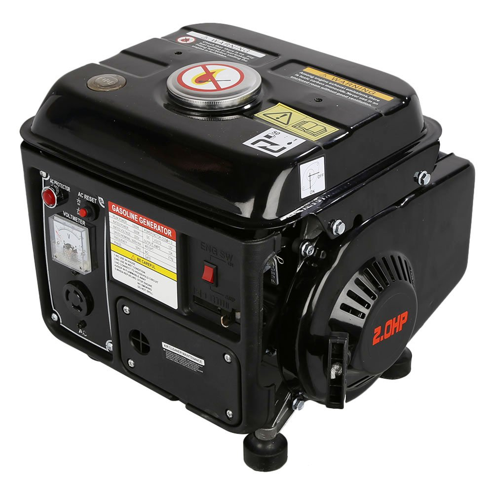 dowantwaps 1200W Gasoline Electric Generator,Gas Powered Portable Generator for Home Camping Emergency