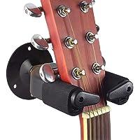 Surplex Soporte de guitarra con base, Gancho Stand con bloqueo de seguridad para Guitarra para montaje en pared, para…
