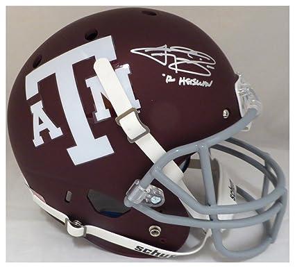 5418f2f3 Amazon.com: Johnny Manziel Autographed Signed Texas A&M Aggies ...