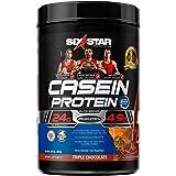 Casein Protein Powder | Six Star Elite Casein Protein Powder | Slow-Digesting Micellar Casein Protein Powder for Women & Men