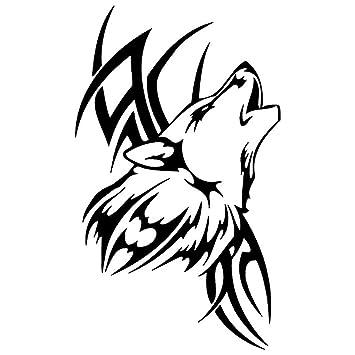 Dandeliondeme Wasserdichte Tattoo Wolf Auto Styling Aufkleber Fahrzeug Motorrad Körper Aufkleber Dekor Für Motorräder Fahrrad Skateboard Snowboard