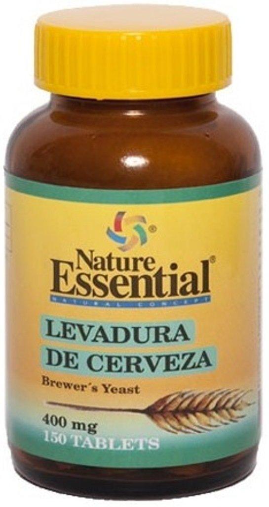 Amazon.es: Nature Essential: Levadura de Cerveza 400mg. 150 Cápsulas