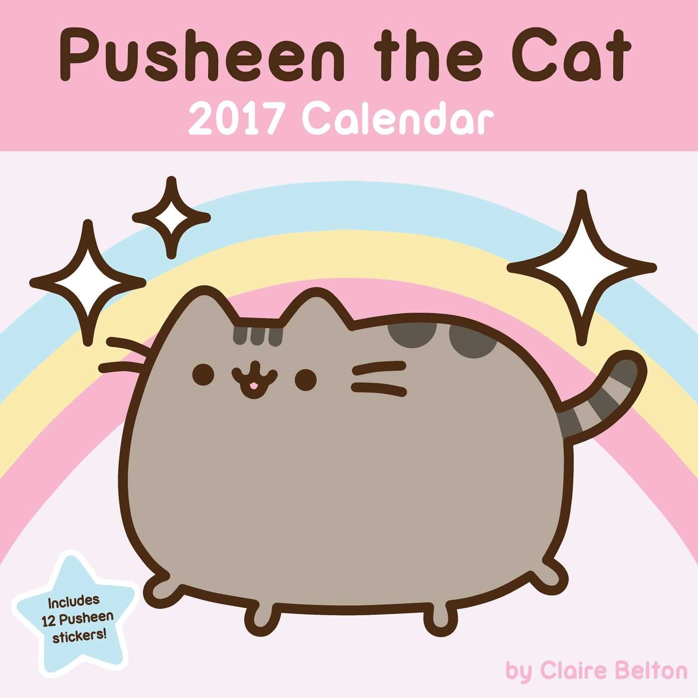 Pusheen the Cat 2017 Wall Calendar: Claire Belton ...