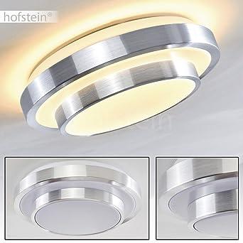 LED Bad Decken Leuchte Mit Warmweißem Licht Aus Aluminium U2013 Badezimmerlampe    Deckenstrahler Für Flur
