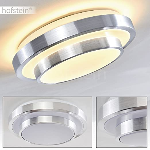 Led ceiling light round white 29cm modern bathroom ceiling lights 880 lumen 3000 kelvin energy saving