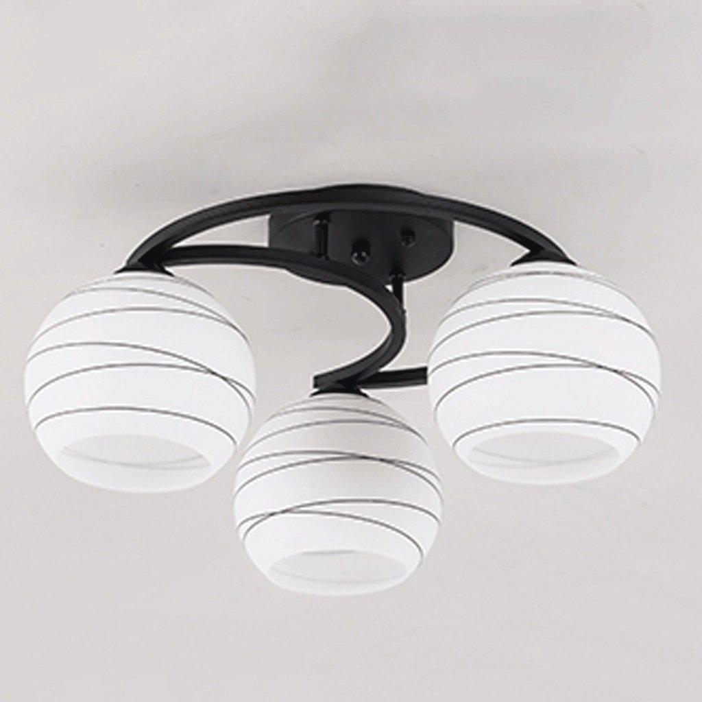Moderne minimalistische Wohnzimmer Lichter Warme Kinderzimmer Lichter Hauptschlafzimmer Licht Restaurant Zimmer Lichter (Größe   3)