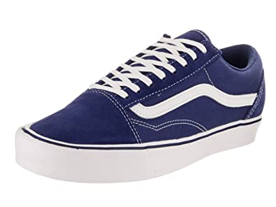 2e8b0c45efb Vans Unisex Old Skool (Suede Canvas) Pewter Skate Shoe 4 Men US