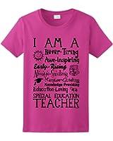 I am a Special Education Teacher Poem, Teacher Gift Ladies T-Shirt