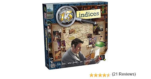 GIGAMIC - Juego de Estrategia 13 índices JGTI: Amazon.es: Juguetes y juegos