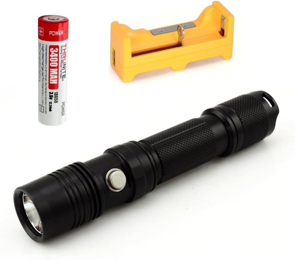 Bundle ThruNite TN12  EDC LED-Taschenlampe Tactical TN12 Kaltweiß