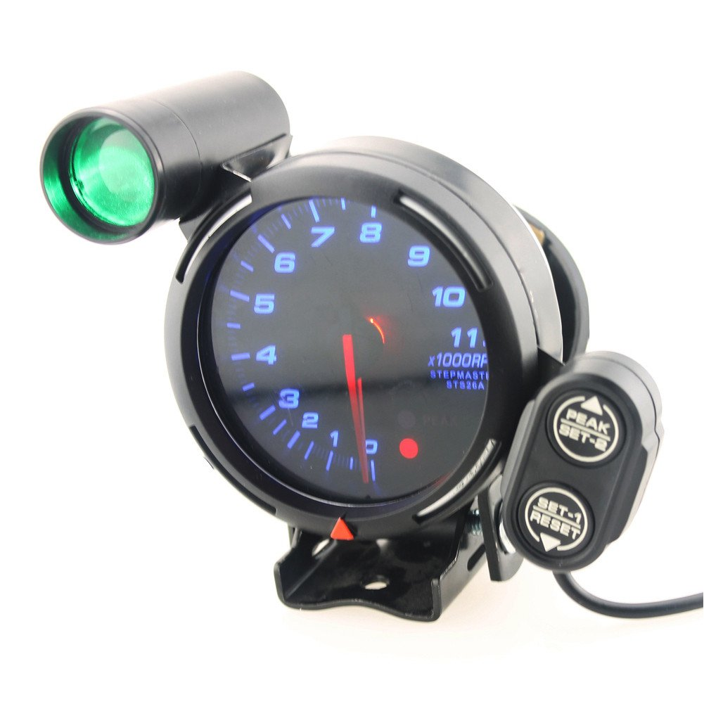 Qiilu Car Tachometer Gauge Kit
