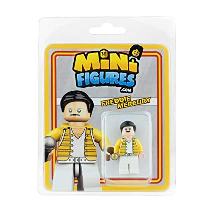 Custom Design Minifigure - Freddie Mercury