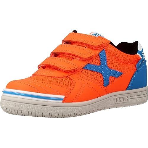 Zapatillas para niño, Color Naranja, Marca MUNICH, Modelo Zapatillas para Niño MUNICH G 3 Kid VCO Naranja: Amazon.es: Zapatos y complementos
