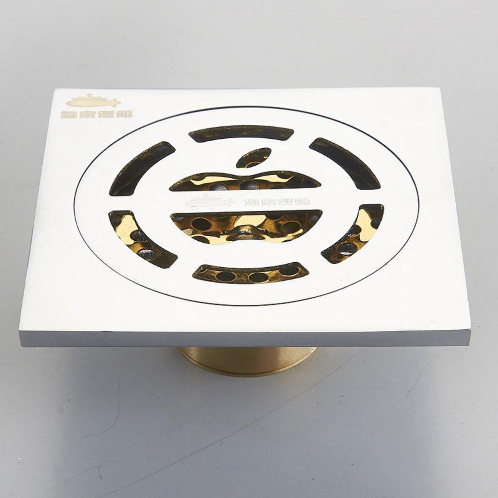 Deodorant rust to drain/automatic drain-E