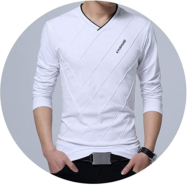 new authentic good united kingdom 2019 Fashion Men T-Shirt Slim Fit Custom T-Shirt Crease ...
