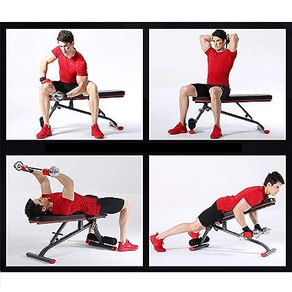 HECHEN Vuelo Pájaro Banco Prensa Pesas Banco Peso 300Kg-Sit Board Equipo De Fitness-Hogar Multifunción Auxiliar Silla De Fitness: Amazon.es: Deportes y aire ...