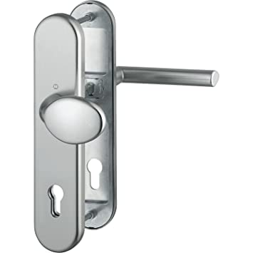 Hoppe Verona Sicherheits//-Wechselgarnitur Schutzgarnitur Edelstahl PZ ES1 8//72mm