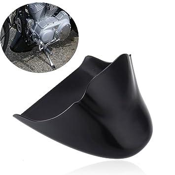 paneltech barbilla carenado frontal inferior Alerón aire Dam W/tamaño para 2004 - 2014 Harley Davidson SPORTSTER XL 883 1200 negro: Amazon.es: Coche y moto