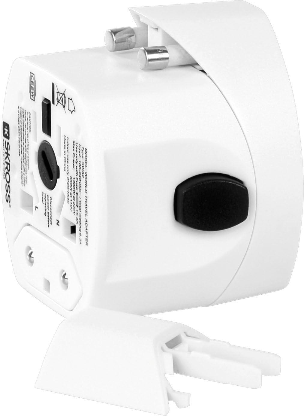 Adaptateur de voyage universel EVO USB 1.302101 Skross