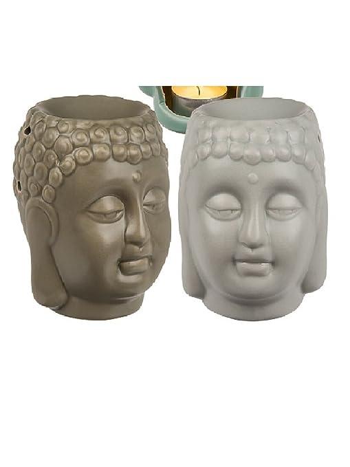 out of The Blue, lámpara aromática portavelas Buda (lanzando Color Aleatorio)