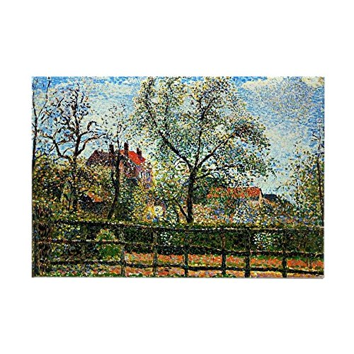 CafePress Pissarro: Pear Tree And Flowers A Rectangle Magnet, 2