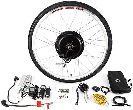 OUKANING Kit de conversión de Motores eléctricos para Bicicleta 336V 250W LCD Kit de Conversión Bicicleta Eléctrica Motor Rueda Trasera 28: Amazon.es: Deportes y aire libre