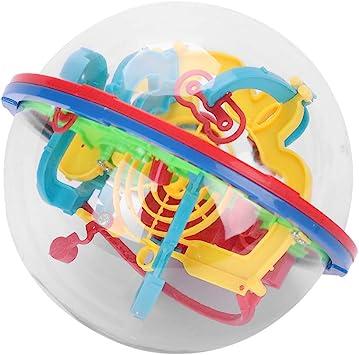 Maze jeu de balle color/é Ball Intelligence 3D Avec 100 obstacles Difficile Labyrinthe Boule Enfants Puzzle jouet /éducatif