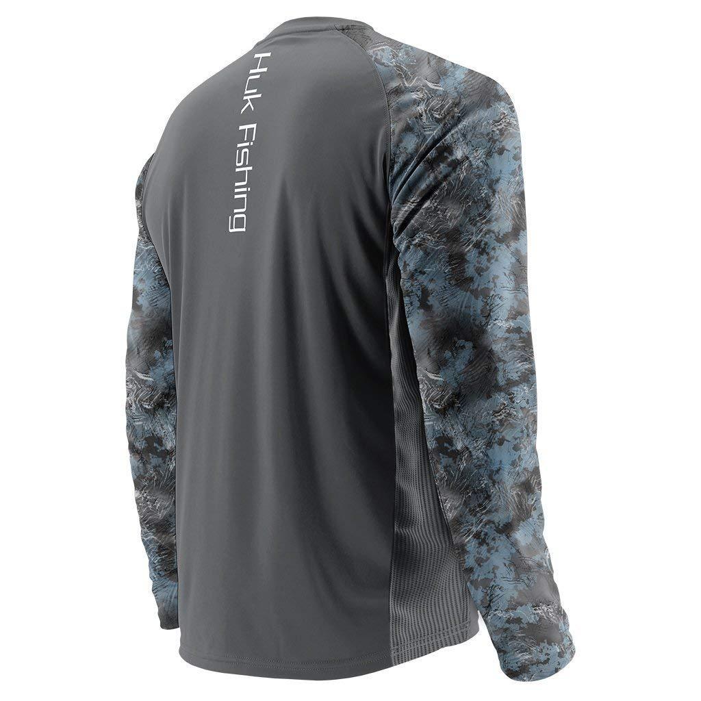 Huk Subphantis Double Header Vented Long Sleeve Shirt