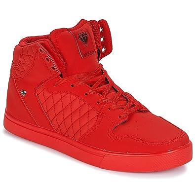 d64382be1c Cash Money CMS13 JAILOR Sneaker Herren Rot Sneaker High: Amazon.de ...
