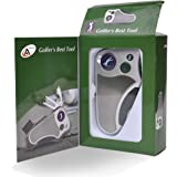 Golfer's Best Tool Golf Multitool All-IN-ONE - Stroke Counter, Divot Repair Tool, Brush, Ball Marker, Cleat Tightener…