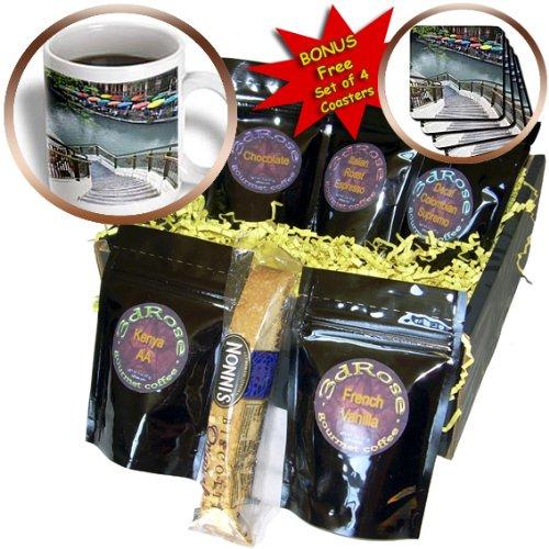 Danita Delimont - Texas - River Walk and San Antonio River, San Antonio, Texas - US44 AJE0039 - Adam Jones - Coffee Gift Baskets - Coffee Gift Basket (cgb_94356_1)
