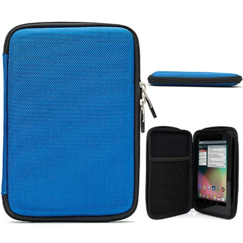 Premium Hardshell Lightweight Carrying Cube Cover Slim Case Folio For Samsung Galaxy Tab 3 Android Tablet 7-inch Display Thinner Bezel