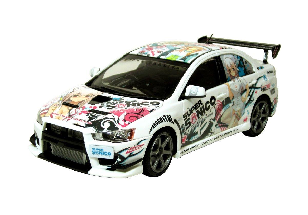 Super Sonico C-West Lancer Evolution X (Street Ver.) (Model Car) 1/24