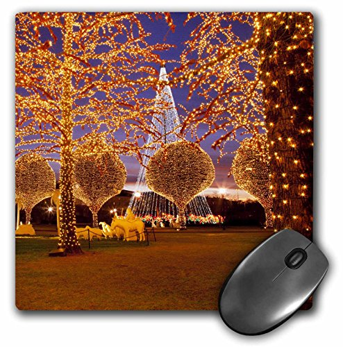 3dRose Christmas Opryland Hotel Nashville Tennessee USA Us43 Bjn0048 Brian Jannsen Mouse Pad (mp_146535_1) (Hotel Opryland Christmas)