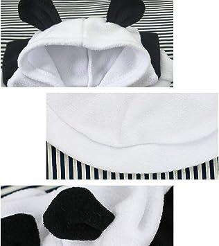 Divertente Vestito Sveglio dei Vestiti del Gatto MAXGOODS Costume da Panda DellAnimale Domestico Cane per Festa di Natale o Halloween Uniforme da Completo per Vestire i Jeans XL
